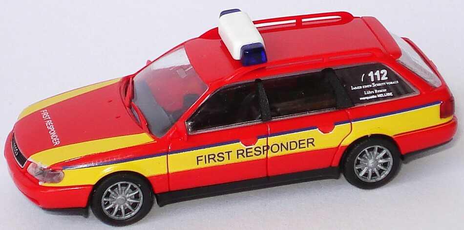 Foto 1:87 Audi A6 Avant (C4) Feuerwehr First Responder Rietze 50672
