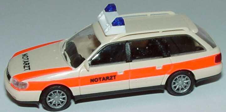 Foto 1:87 Audi A6 Avant (C4) NEF Notarzt Rietze 50661