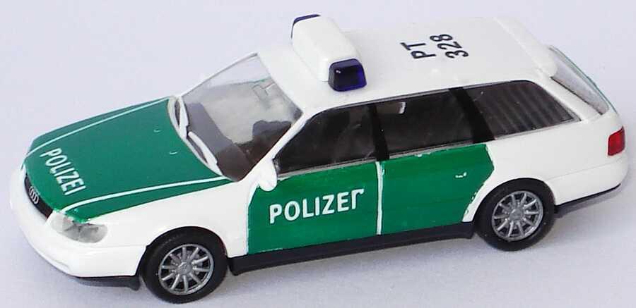 Foto 1:87 Audi A6 Avant (C4) Polizei PT 328 Rietze 50670