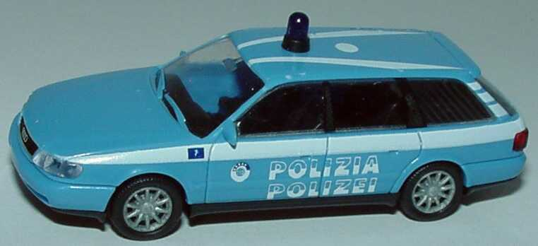 Foto 1:87 Audi A6 Avant (C4) Polizia/Polizei (Italien) Rietze 50677