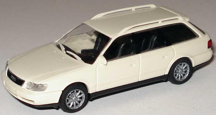 Foto 1:87 Audi A6 Avant (C4) cremeweiß Rietze 10617