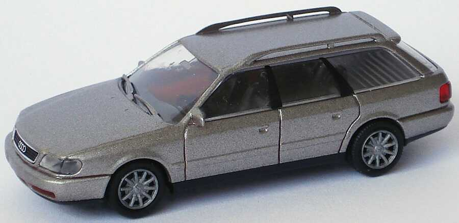 Foto 1:87 Audi A6 Avant (C4) rauchsilber-met. Rietze 20670