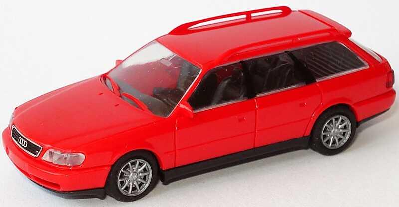 Foto 1:87 Audi A6 Avant (C4) rot Rietze 10670