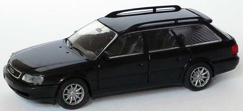 Foto 1:87 Audi A6 Avant (C4) schwarz Rietze 10670