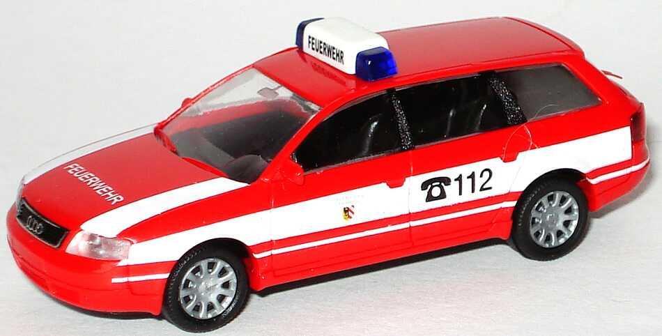 Foto 1:87 Audi A6 Avant (C5) Feuerwehr Stadt Nürnberg Rietze