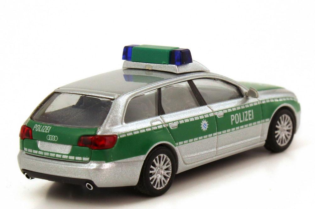 KV5960 Busch 1//87 49656 Audi A6 Avant Polizei OVP