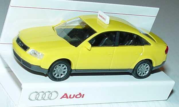 Foto 1:87 Audi A6 (C5) Fahrschule gelb Werbemodell Rietze 20000000060