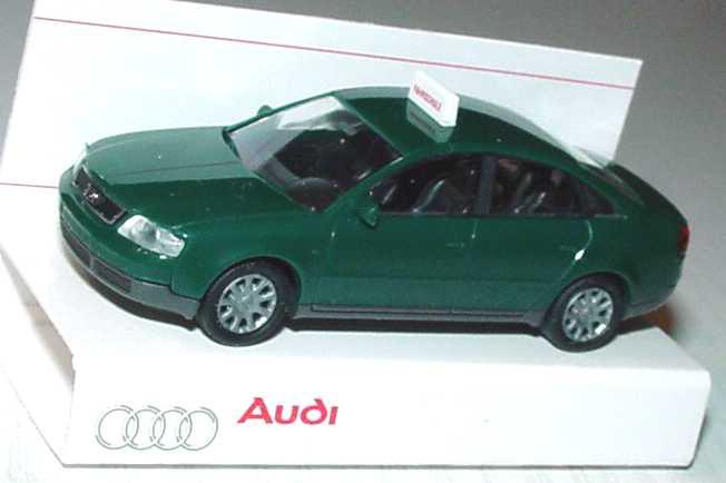 Foto 1:87 Audi A6 (C5) Fahrschule racinggreen Werbemodell Rietze 20000000060