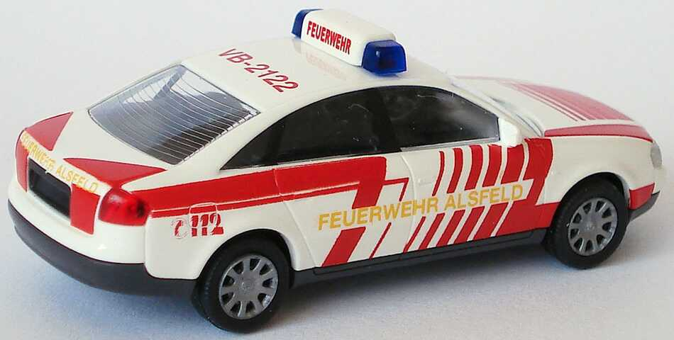 Foto 1:87 Audi A6 (C5) Feuerwehr Alsfeld, VB-2122 Rietze 50905
