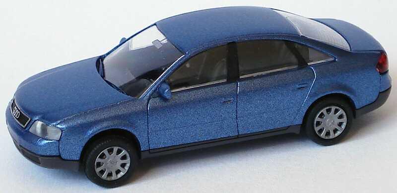 Foto 1:87 Audi A6 (C5) blau-met. Rietze 20900