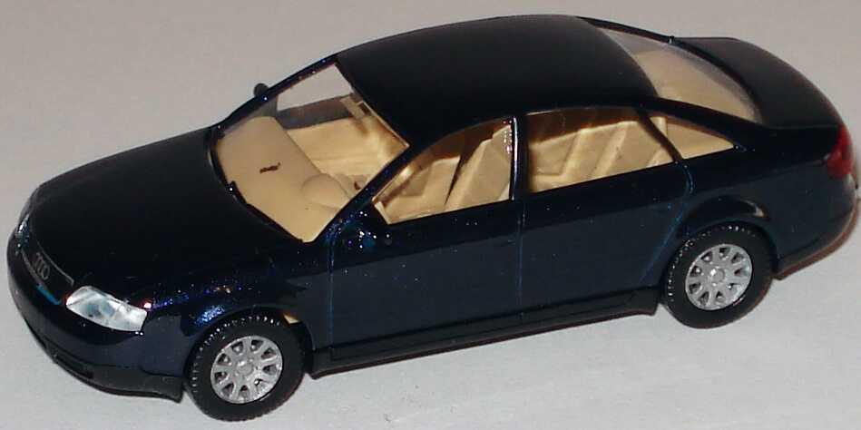 Foto 1:87 Audi A6 (C5) dunkelblau-met. Wiking 124
