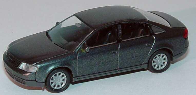 Foto 1:87 Audi A6 (C5) dunkelgraumet., Grill nicht verchromt Rietze 20900