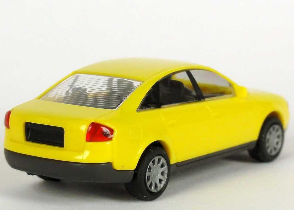 Foto 1:87 Audi A6 (C5) gelb Werbemodell Rietze