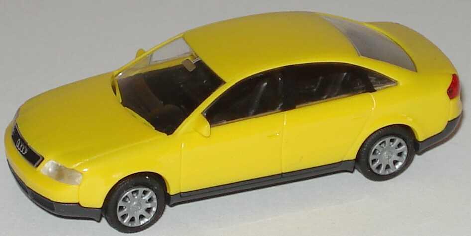 Foto 1:87 Audi A6 (C5) gelb Rietze