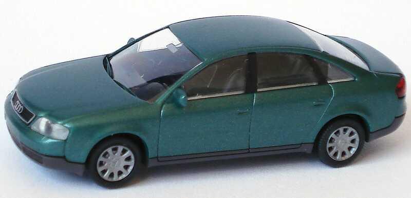 Foto 1:87 Audi A6 (C5) grün-met. Rietze 20900