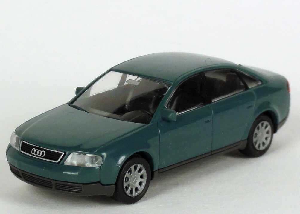 Foto 1:87 Audi A6 (C5) petrolblau Werbemodell Rietze