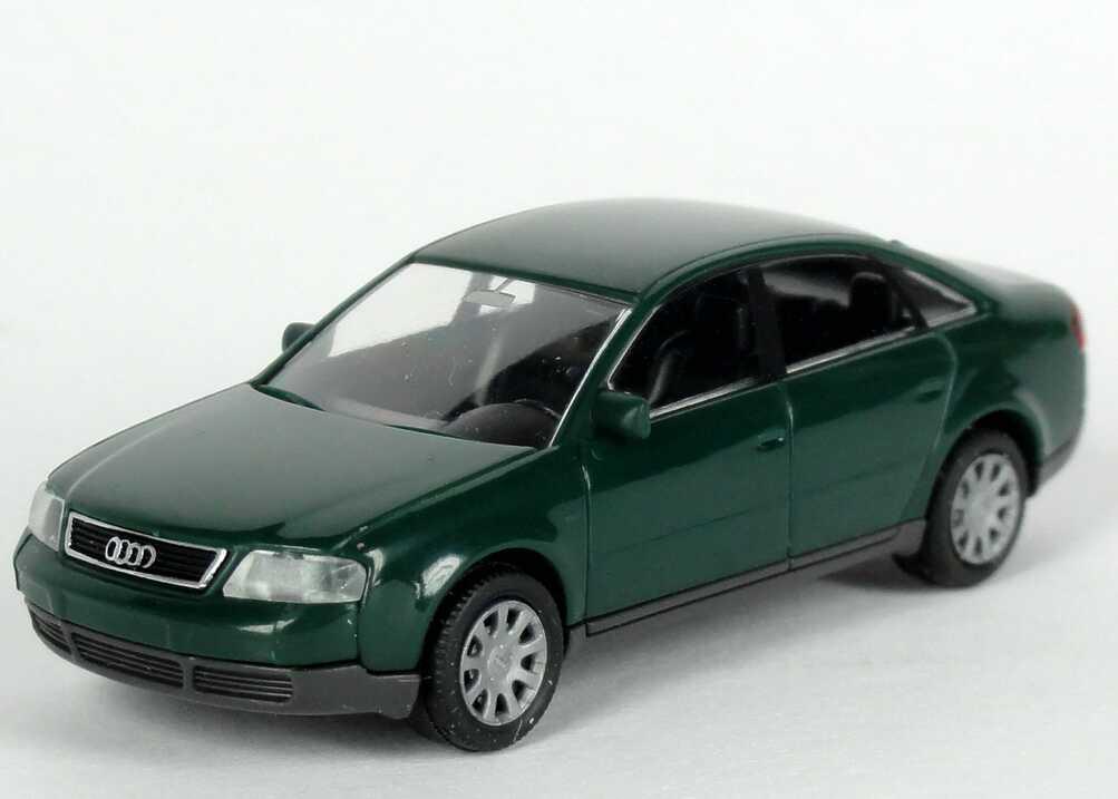 Foto 1:87 Audi A6 (C5) racinggrün Werbemodell Rietze