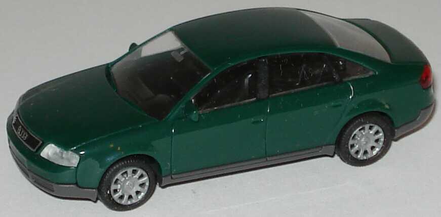 Foto 1:87 Audi A6 (C5) racinggrün Rietze