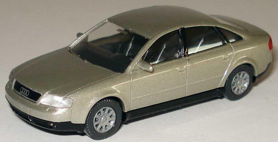 Foto 1:87 Audi A6 (C5) rauchsilber-met. Wiking 124