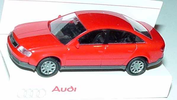 Foto 1:87 Audi A6 (C5) rot Werbemodell Rietze