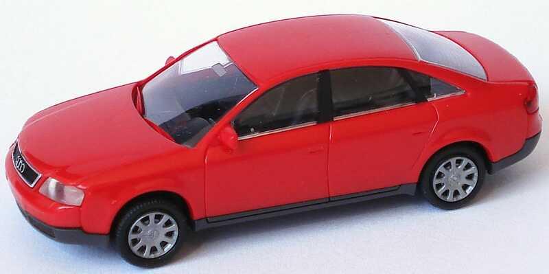 Foto 1:87 Audi A6 (C5) rot Rietze 10900