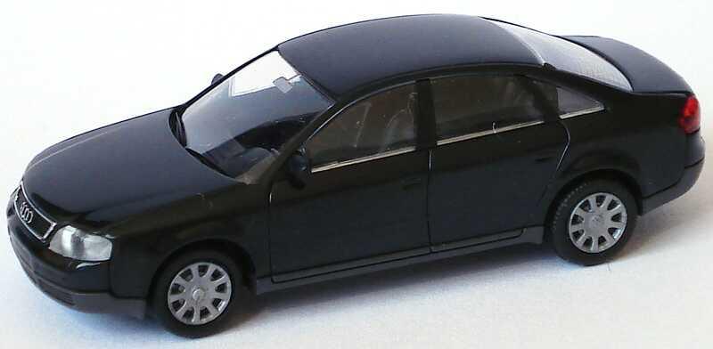 Foto 1:87 Audi A6 (C5) schwarz Rietze 10900