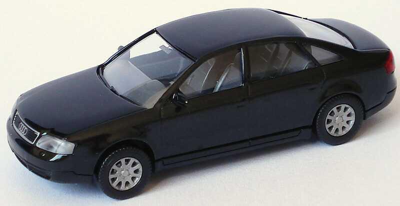 Foto 1:87 Audi A6 (C5) schwarz-met. Wiking 124