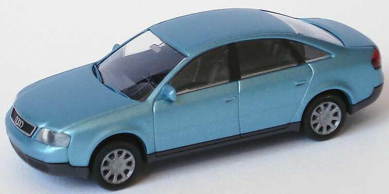 Foto 1:87 Audi A6 (C5) silberblau-met. Rietze 20900