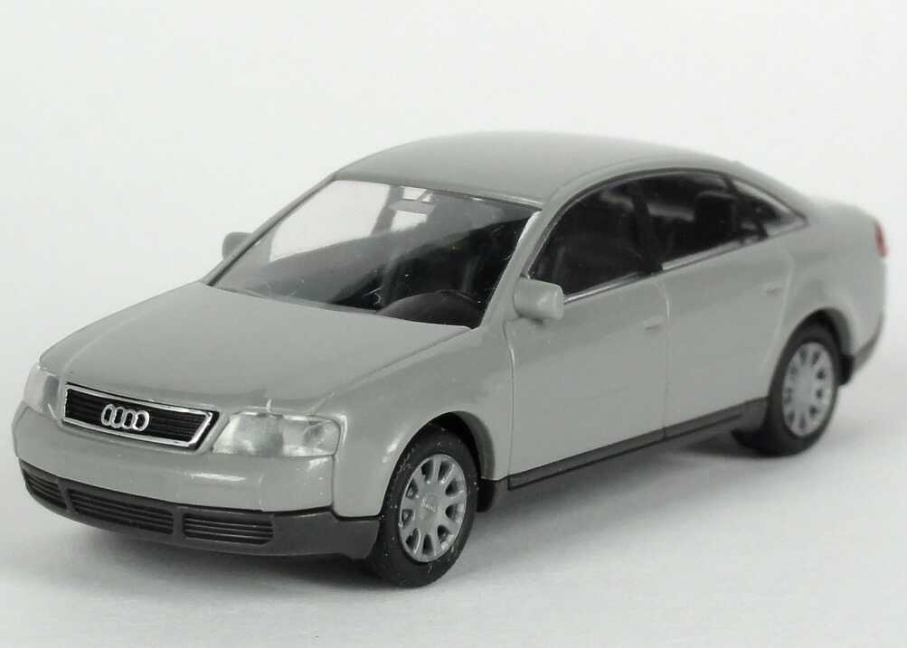 Foto 1:87 Audi A6 (C5) silbergrau-met. Werbemodell Rietze