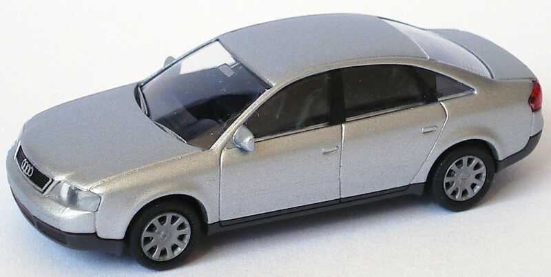 Foto 1:87 Audi A6 (C5) silber-met. Rietze 20900