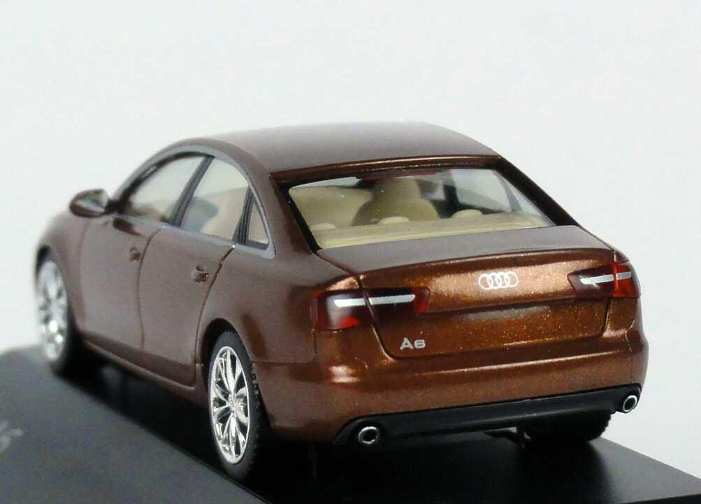Audi A6 C7 Ipanema Braun Met Audi Exclusive Edition