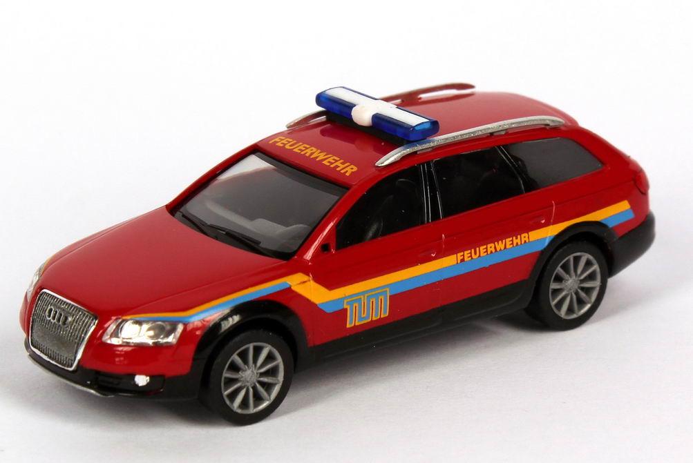 Foto 1:87 Audi A6 allroad quattro 2006 Feuerwehr TU München herpa 047593