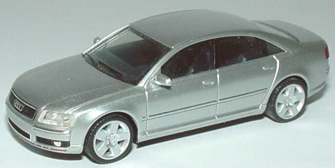 Foto 1:87 Audi A8 Mod. 2003 silber-met. herpa