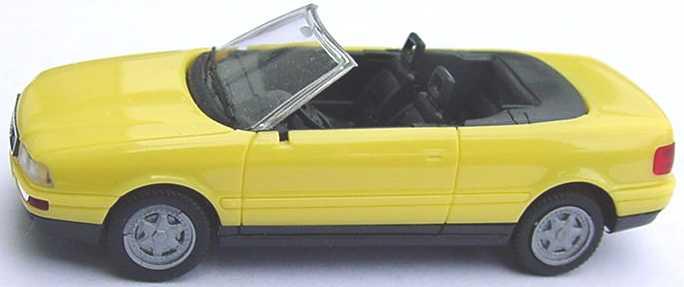 Foto 1:87 Audi Cabrio gelb herpa 021074