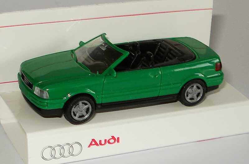 Foto 1:87 Audi Cabrio kaktusgrün Werbemodell Rietze 20000000052002