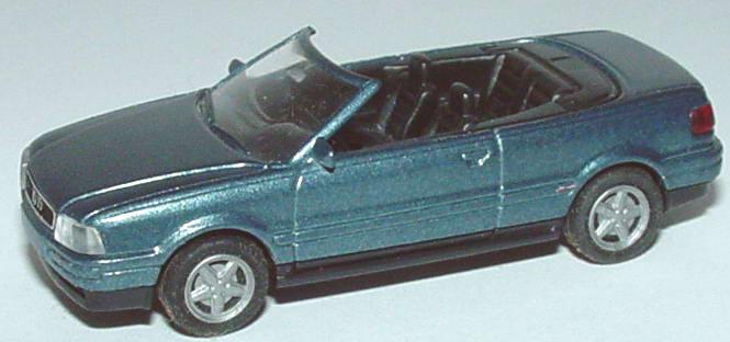 Foto 1:87 Audi Cabrio petrolmet., IA schwarz Rietze