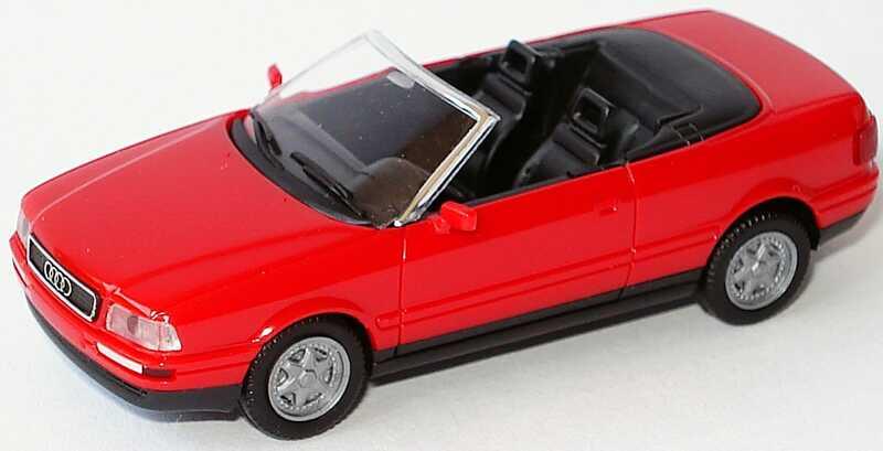 Foto 1:87 Audi Cabrio rot herpa 021074