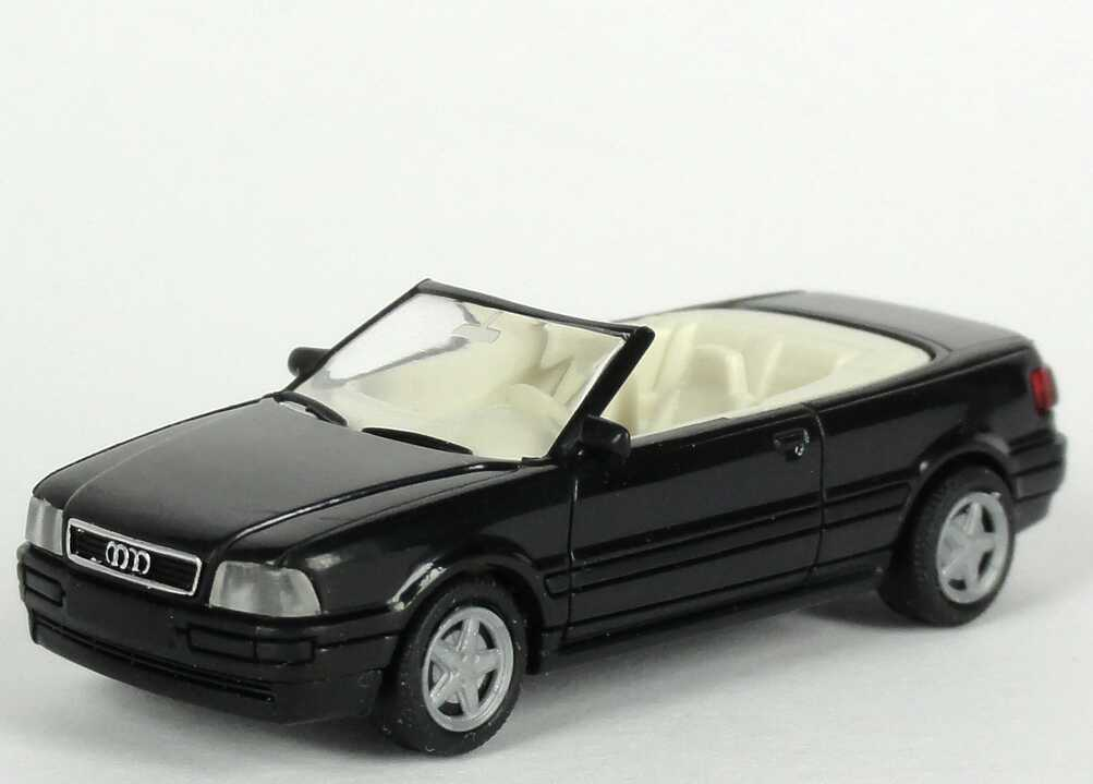 Foto 1:87 Audi Cabrio schwarz Werbemodell Rietze 20000000052001