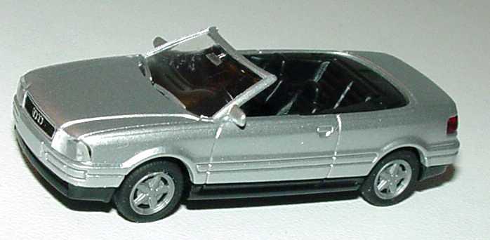 Foto 1:87 Audi Cabrio silber-met. Rietze