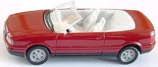Foto 1:87 Audi Cabrio weinrot herpa 021074