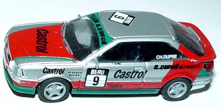 Foto 1:87 Audi Coupé S2 Dupré Sport, Castrol Nr.9, Ch. Dupré (DTT 1993) (ohne PC-Box) Rietze 90101