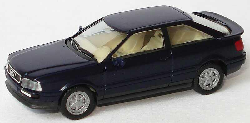 Foto 1:87 Audi Coupé dunkelblau-met. herpa 031080