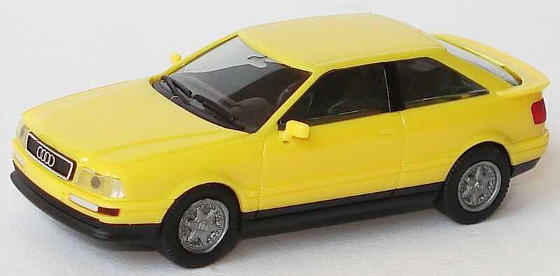 Foto 1:87 Audi Coupé gelb herpa 021081