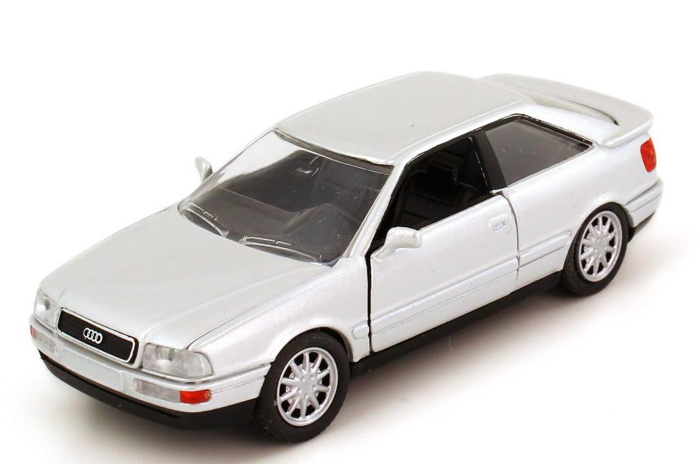 Foto 1:43 Audi Coupé quattro 1991 (Typ B3 Facelift) silber-met. - Schabak