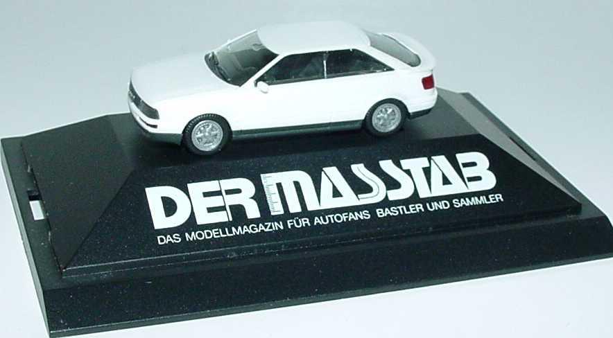 Foto 1:87 Audi Coupé quattro perlmutt-met. Der Masstab herpa
