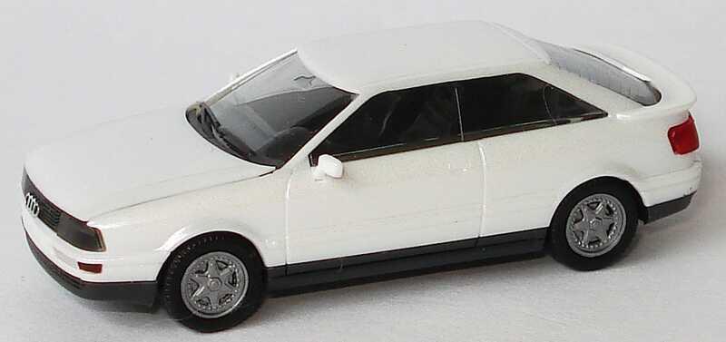 Foto 1:87 Audi Coupé quattro perlmutt-met. herpa 2520