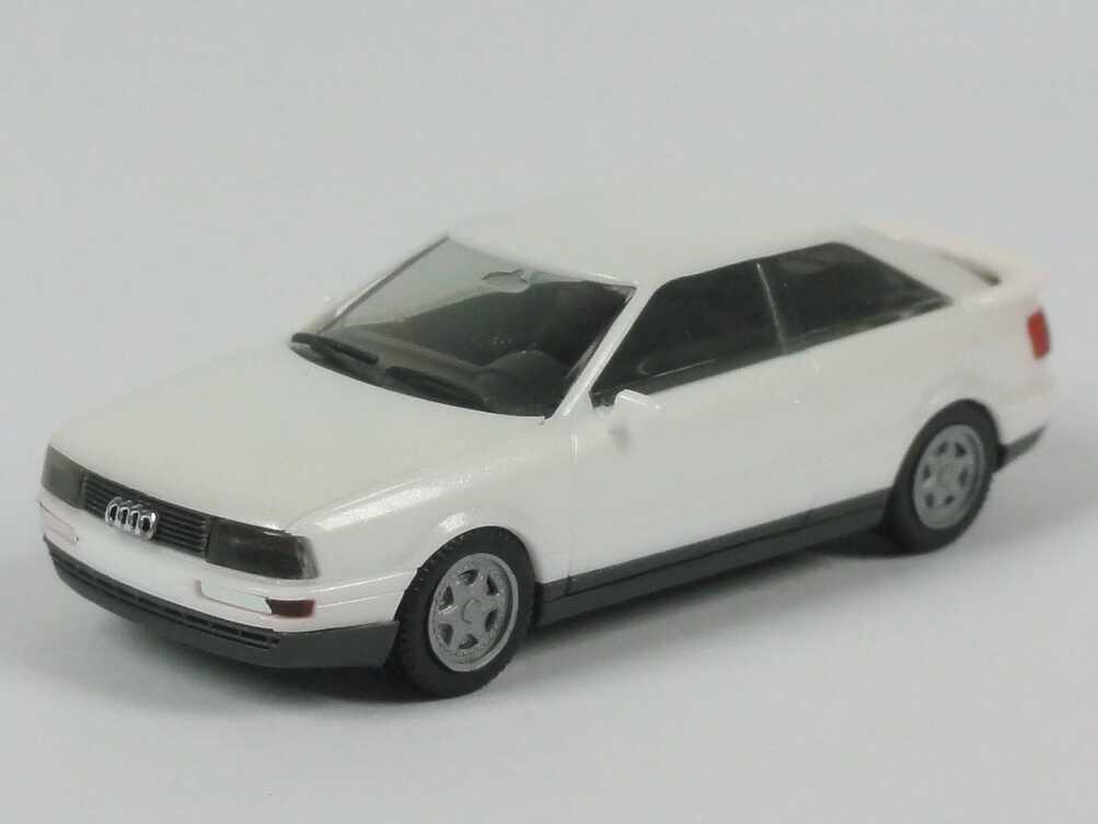 Foto 1:87 Audi Coupé quattro perlmutt-weiß-met. herpa 2520