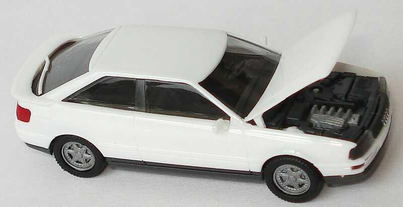 Foto 1:87 Audi Coupé quattro weiß herpa 2520