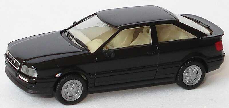 Foto 1:87 Audi Coupé schwarz herpa 021081