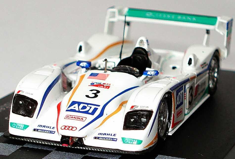 Foto 1:87 Audi R8 24h von Le Mans 2005 Audi Sport UK, ADT Nr.3, Werner / Letho / Kristensen Spark 87LM05